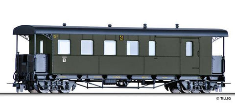 Tillig 13964 Baggage car CPw4i of the NWE Ep. II