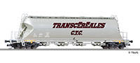 Tillig 18250 Silo car Uacs TRANSCEREALES/C.T.C. of the ÖBB Ep. IV