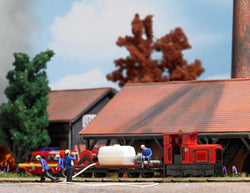 Busch 12119 ## Narrow Gauge Train Set Fire train