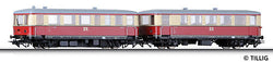 Tillig 74191 Railbus class VT 135 with trailer car VB 140 of the DR Ep