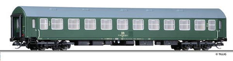 Tillig 16673 2nd class passenger coach Bme type Y/B 70 of the DR Ep. I