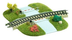 Busch 3209 Curved Level Crossing