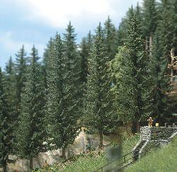Busch 6133 2 Realistic Fir Trees