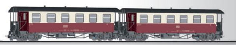 Tillig 13992 Passenger coach set of the HSB with two passenger coaches