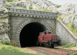Busch 7023 Tunnel Portals Double
