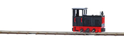 Busch 12121 ## Diesel loco black with red detail