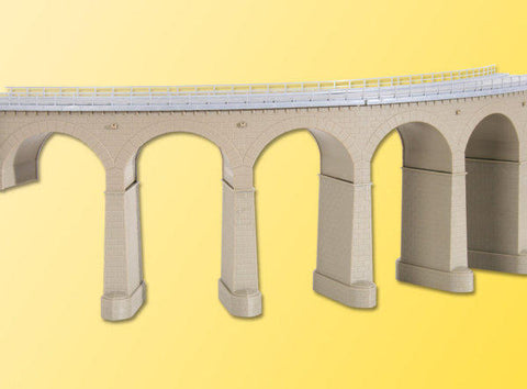 Kibri 39725 H0 Viaduct With Ice Breaking Pillars, Curved, Single Track