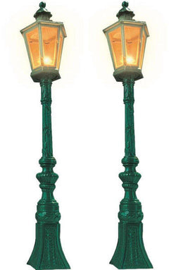 Busch 8621 Gauge 1/G Green Gas Lamps