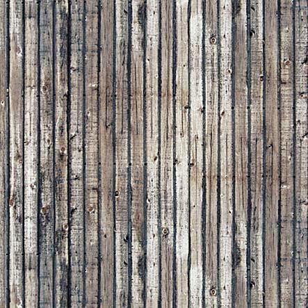 Busch 7420 Weathered Timber Planks 2 x card sheets ea 210x148mm