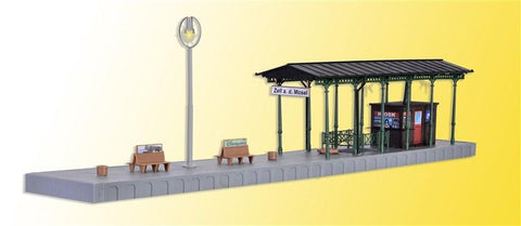 Kibri 39564 H0 Platform Zell With LED Lighting