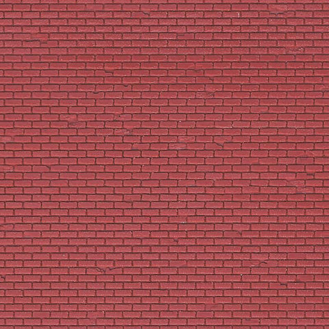 Vollmer 47349 N Red brick sheet plastic sheet 149x109mm