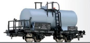 Tillig 76622 Tank car Benzin Benzol Verband of the DRG Ep. II