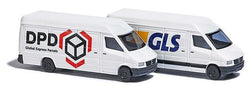 Busch 8308 2 Mercedes Sprinter DPD and GLS