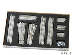 "Tillig 1833 01833 Track Extension Set ""Ballast Track"""