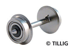 Tillig 76901 Wheelset one side insulated 9mm diameter