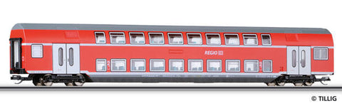 Tillig 13800 2nd class double deck coach DBz 750 of the DB AG Ep. VI
