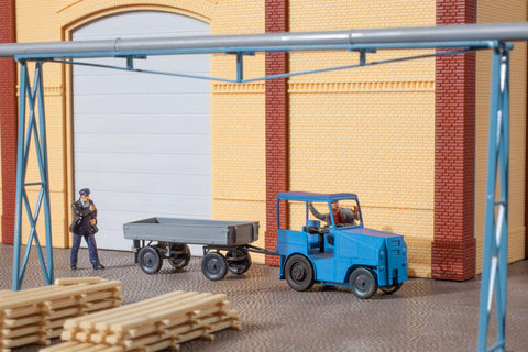 Auhagen 41636 HO Small tractor or forklift