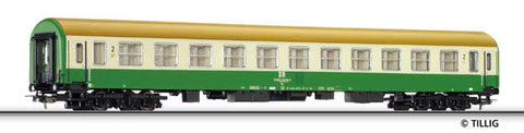 Tillig 74416 2nd class passenger coach type Halberstadt of the DR Ep.