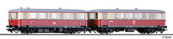 Tillig 70004 Railbus class 183 with trailer car class 190 of the DR Ep