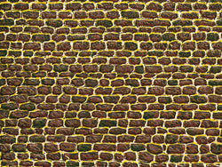 Auhagen 50502 Card sheet (1) irregular cut stone wall
