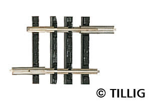 Tillig 83120 Straight track G 6 213 mm