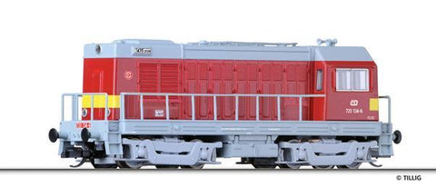Tillig 2623 Diesel locomotive class 720 of the CD Ep. V