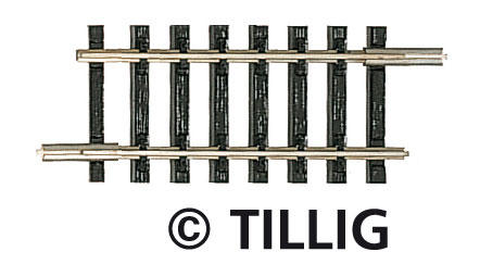 Tillig 83105 Straight track G 3 43 mm