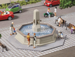 Auhagen 41629 HO Town fountain. Non working
