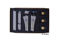 Tillig 1836 01836 Track extension set railroad shunting yard