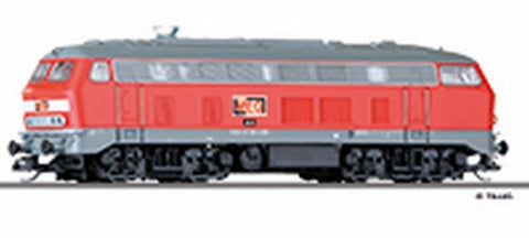 Tillig 2715 Diesel locomotive class 218 of the MEG Ep. VI
