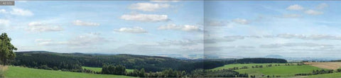 Auhagen 42515 HO Ore Mountains background mural 3