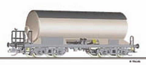 Tillig 15000 Gas tank car Uah/Zagk with sunshild of the DR Ep. IV