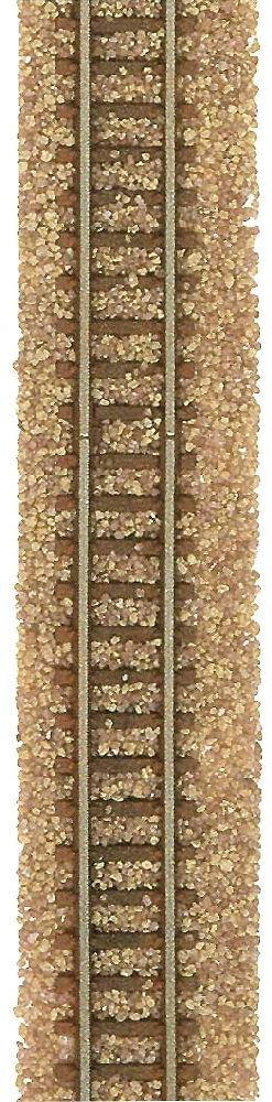 Busch 7125 Light Brown Mixed Track Ballast