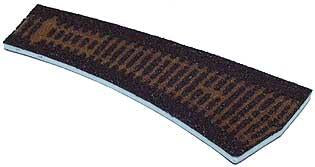 Tillig 86517 Track bedding Advanced Track dark (brown) fo right curved