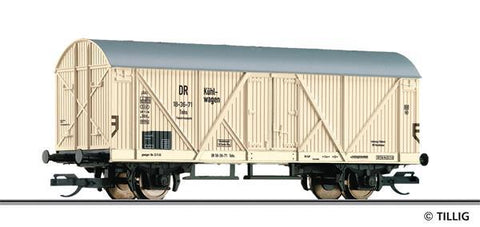 Tillig 17005 Refrigerator car Tnhs of the DR Ep. III