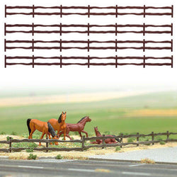 Busch 6008 130cm Country Fencing