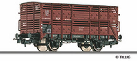 Tillig 76657 Shed car for transport of animals Sn of the PKP Ep. III