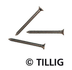 Tillig 8976 Mini wood screws: 14 mm x 15 mm (bag of 100)