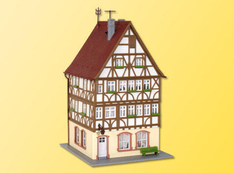 Kibri 38903 H0 Half Timbered House on Market Square