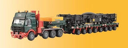 Kibri 13601 13600 HO/OO MB SK with Scheuerle Platform Car & Wagon Chassis Load