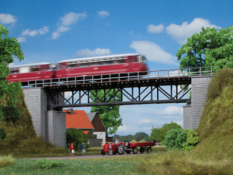 Auhagen 11364 HO Railroad Bridge