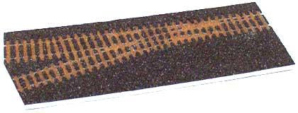 Tillig 86732 Track bedding branch left HO / HOm dark brown