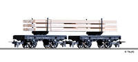 Tillig 15918 Pair of cradle cars of the DR with load Ep. III