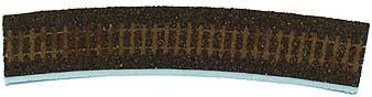 Tillig 86504 Track bedding Advanced Track dark (brown) for Curved track