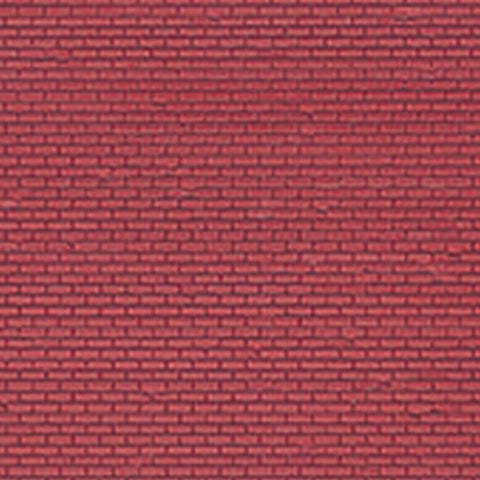 Vollmer 48223 Real Stone small brick wall sheet