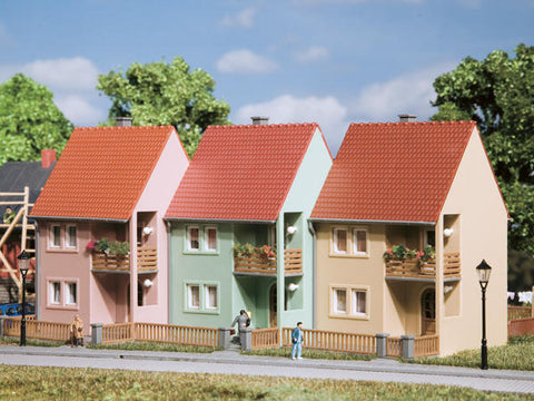 Auhagen 13273 TT 3 Small town houses