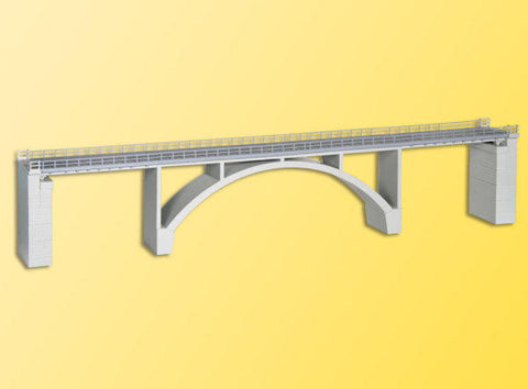 Kibri 39740 H0 Prestressed Concrete Arch Bridge, Single Track