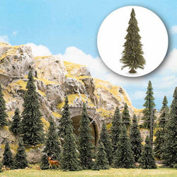 Busch 6576 N/TT 20 Pine Trees With Bases