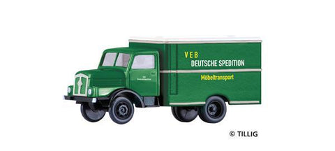 Tillig 19011 Truck H3A box VEB Deutsche Spedition