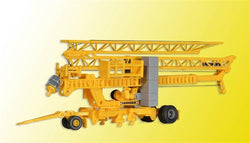 Kibri 10390 HO/OO Liebherr SK 20 quick-assembly crane with trailer